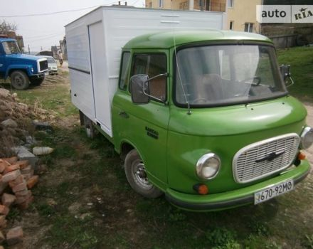 Зелений Баркас B1000, об'ємом двигуна 1.8 л та пробігом 100 тис. км за 1600 $, фото 1 на Automoto.ua