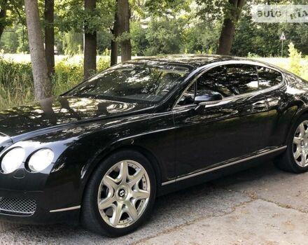 Черный Бентли Континенталь ГТ, объемом двигателя 6 л и пробегом 58 тыс. км за 38300 $, фото 1 на Automoto.ua