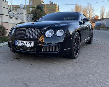 Черный Бентли Континенталь ГТ, объемом двигателя 6 л и пробегом 65 тыс. км за 41500 $, фото 1 на Automoto.ua