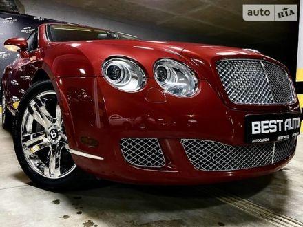 Червоний Бентлі Continental GT, об'ємом двигуна 6 л та пробігом 30 тис. км за 47500 $, фото 1 на Automoto.ua