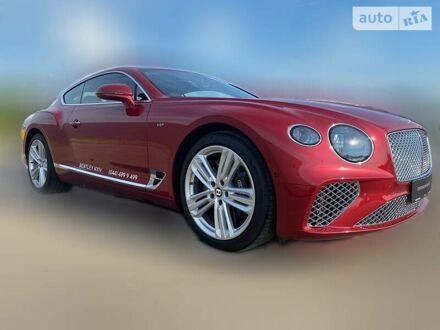 Красный Бентли Континенталь ГТ, объемом двигателя 4 л и пробегом 5 тыс. км за 297549 $, фото 1 на Automoto.ua