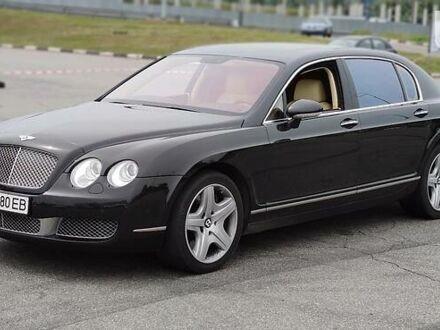 Черный Бентли Континенталь, объемом двигателя 6 л и пробегом 112 тыс. км за 30000 $, фото 1 на Automoto.ua