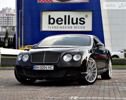 Черный Бентли Континенталь, объемом двигателя 6 л и пробегом 47 тыс. км за 55000 $, фото 1 на Automoto.ua