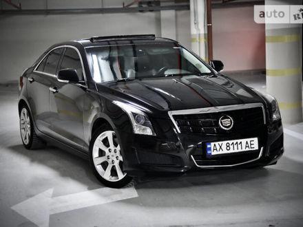 Черный Кадиллак АТС, объемом двигателя 2.5 л и пробегом 86 тыс. км за 13333 $, фото 1 на Automoto.ua