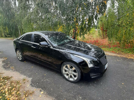 Черный Кадиллак АТС, объемом двигателя 2 л и пробегом 198 тыс. км за 12300 $, фото 1 на Automoto.ua