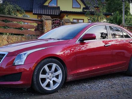 Красный Кадиллак АТС, объемом двигателя 2.5 л и пробегом 76 тыс. км за 13999 $, фото 1 на Automoto.ua