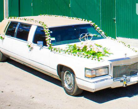 Білий Каділак Brougham, об'ємом двигуна 5.7 л та пробігом 70 тис. км за 0 $, фото 1 на Automoto.ua