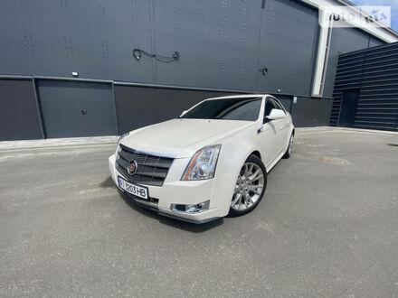Білий Каділак CTS, об'ємом двигуна 3.6 л та пробігом 155 тис. км за 13000 $, фото 1 на Automoto.ua