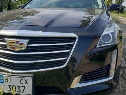 Чорний Каділак CTS, об'ємом двигуна 2 л та пробігом 23 тис. км за 20000 $, фото 1 на Automoto.ua