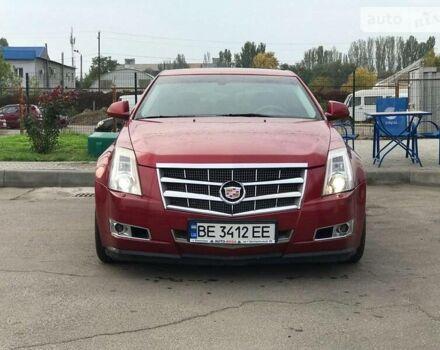 Червоний Каділак CTS, об'ємом двигуна 3.6 л та пробігом 137 тис. км за 10850 $, фото 1 на Automoto.ua