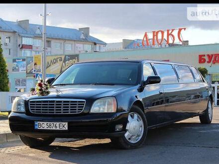 Черный Кадиллак ДеВиль, объемом двигателя 4.6 л и пробегом 90 тыс. км за 17500 $, фото 1 на Automoto.ua