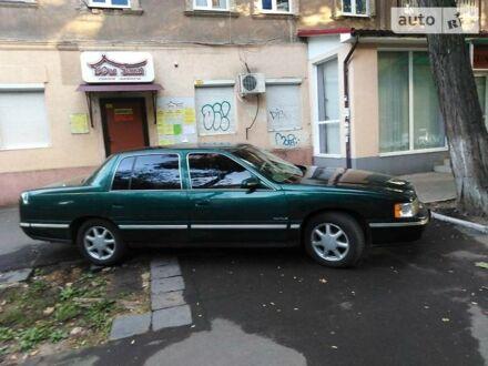 Зелений Каділак DE Ville, об'ємом двигуна 4.6 л та пробігом 340 тис. км за 6000 $, фото 1 на Automoto.ua