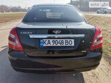 Черный Чери Элара, объемом двигателя 1.5 л и пробегом 110 тыс. км за 4000 $, фото 1 на Automoto.ua