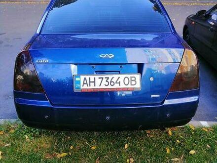 Оливковий Чері Елара, об'ємом двигуна 2 л та пробігом 70 тис. км за 4800 $, фото 1 на Automoto.ua