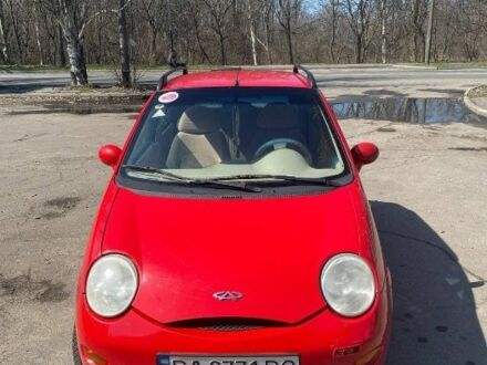 Червоний Чері Кью Кью, об'ємом двигуна 1.1 л та пробігом 80 тис. км за 3300 $, фото 1 на Automoto.ua