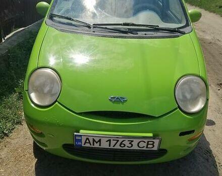 Зеленый Чери Кью Кью, объемом двигателя 1.1 л и пробегом 110 тыс. км за 2900 $, фото 1 на Automoto.ua