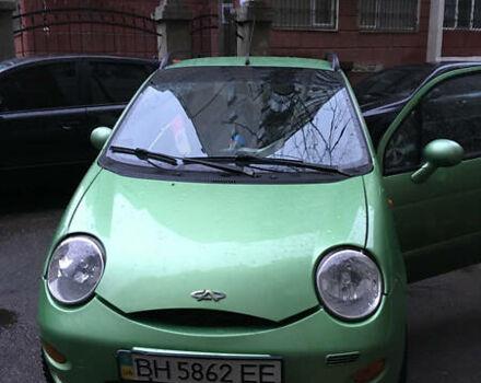 Зелений Чері Кью Кью, об'ємом двигуна 1.1 л та пробігом 70 тис. км за 3800 $, фото 1 на Automoto.ua