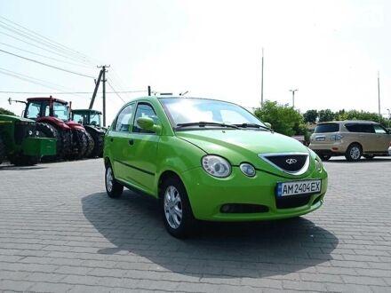 Зелений Чері СКР, об'ємом двигуна 1.3 л та пробігом 80 тис. км за 2800 $, фото 1 на Automoto.ua