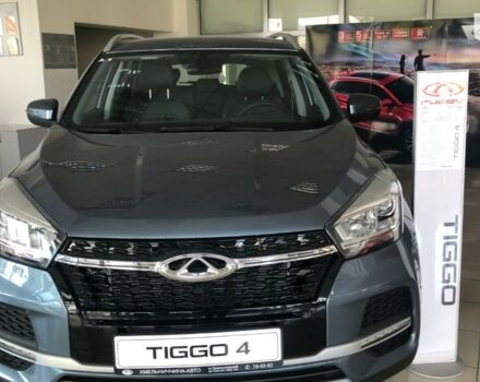 купить новое авто Чери Tiggo 4 2021 года от официального дилера Хмельниччина-Авто Чери фото