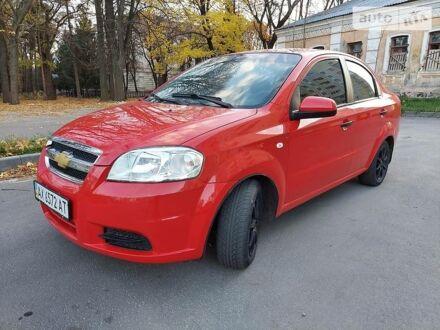 Красный Шевроле Авео, объемом двигателя 1.5 л и пробегом 142 тыс. км за 4400 $, фото 1 на Automoto.ua