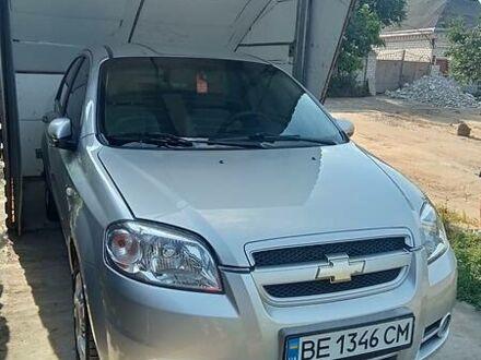 Серый Шевроле Авео, объемом двигателя 1.6 л и пробегом 90 тыс. км за 6000 $, фото 1 на Automoto.ua