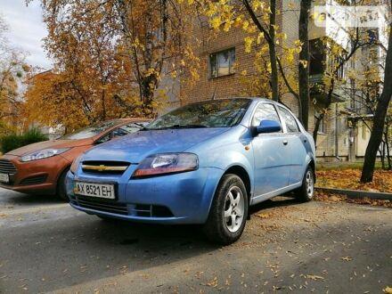 Синий Шевроле Авео, объемом двигателя 1.5 л и пробегом 190 тыс. км за 3000 $, фото 1 на Automoto.ua