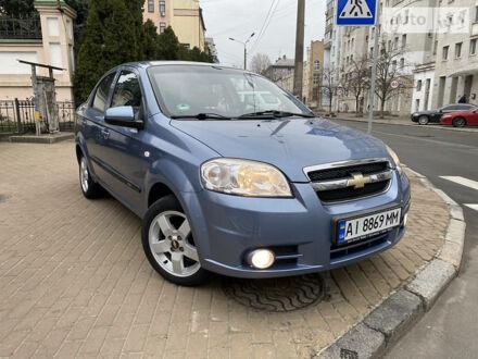 Синий Шевроле Авео, объемом двигателя 1.4 л и пробегом 132 тыс. км за 5850 $, фото 1 на Automoto.ua