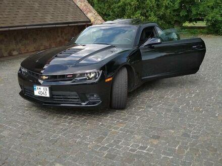 Черный Шевроле Камаро, объемом двигателя 6.2 л и пробегом 70 тыс. км за 25500 $, фото 1 на Automoto.ua