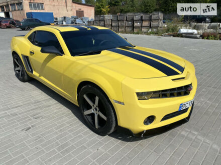 Желтый Шевроле Камаро, объемом двигателя 3.6 л и пробегом 162 тыс. км за 11900 $, фото 1 на Automoto.ua