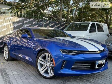 Синий Шевроле Камаро, объемом двигателя 1.9 л и пробегом 49 тыс. км за 23000 $, фото 1 на Automoto.ua