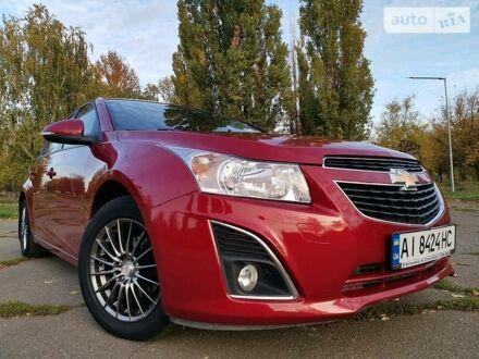Красный Шевроле Круз, объемом двигателя 1.6 л и пробегом 111 тыс. км за 8500 $, фото 1 на Automoto.ua