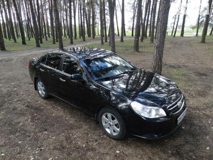 Черный Шевроле Эпика, объемом двигателя 2 л и пробегом 122 тыс. км за 6600 $, фото 1 на Automoto.ua