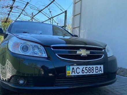 Черный Шевроле Эпика, объемом двигателя 2 л и пробегом 89 тыс. км за 7500 $, фото 1 на Automoto.ua