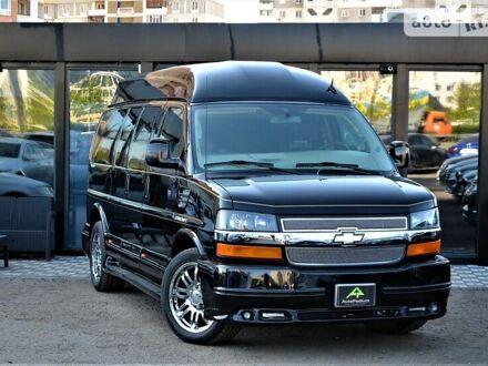 Черный Шевроле Express пас, объемом двигателя 6 л и пробегом 28 тыс. км за 42000 $, фото 1 на Automoto.ua
