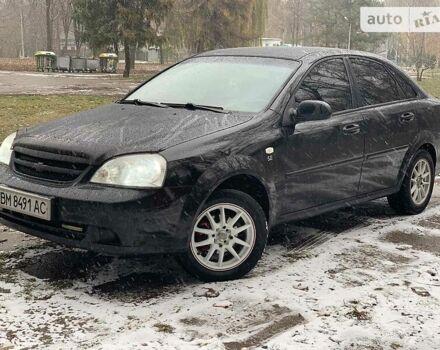 Черный Шевроле Лачетти, объемом двигателя 1.6 л и пробегом 200 тыс. км за 5299 $, фото 1 на Automoto.ua