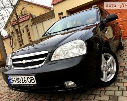 Черный Шевроле Лачетти, объемом двигателя 1.6 л и пробегом 116 тыс. км за 5999 $, фото 1 на Automoto.ua