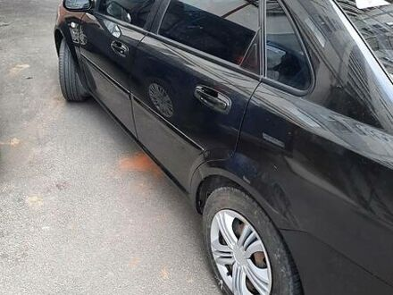 Черный Шевроле Лачетти, объемом двигателя 1.8 л и пробегом 244 тыс. км за 4900 $, фото 1 на Automoto.ua