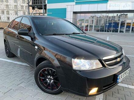 Черный Шевроле Лачетти, объемом двигателя 1.8 л и пробегом 155 тыс. км за 6299 $, фото 1 на Automoto.ua