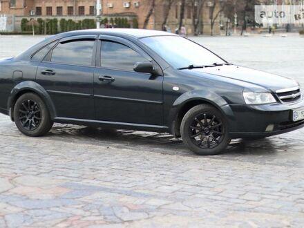 Черный Шевроле Лачетти, объемом двигателя 1.6 л и пробегом 130 тыс. км за 6700 $, фото 1 на Automoto.ua