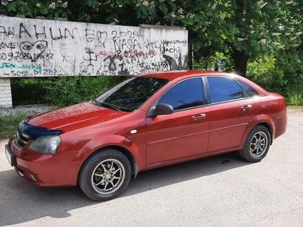 Красный Шевроле Лачетти, объемом двигателя 1.6 л и пробегом 105 тыс. км за 6600 $, фото 1 на Automoto.ua