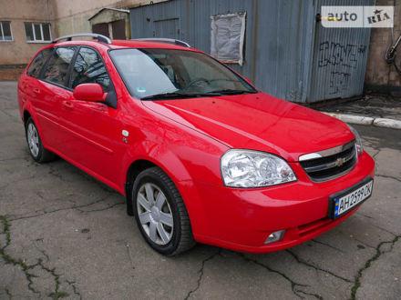 Красный Шевроле Лачетти, объемом двигателя 1.6 л и пробегом 103 тыс. км за 6800 $, фото 1 на Automoto.ua