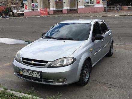 Серый Шевроле Лачетти, объемом двигателя 1.6 л и пробегом 163 тыс. км за 4600 $, фото 1 на Automoto.ua