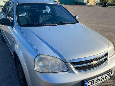 Серый Шевроле Лачетти, объемом двигателя 1.6 л и пробегом 389 тыс. км за 3500 $, фото 1 на Automoto.ua