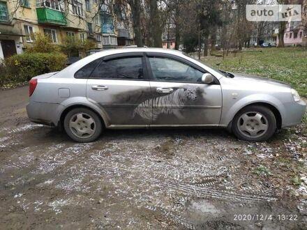 Серый Шевроле Лачетти, объемом двигателя 1.8 л и пробегом 210 тыс. км за 4000 $, фото 1 на Automoto.ua