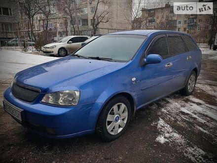 Синий Шевроле Лачетти, объемом двигателя 1.8 л и пробегом 145 тыс. км за 5900 $, фото 1 на Automoto.ua