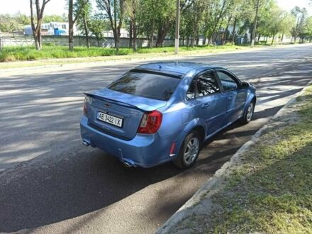 Синий Шевроле Лачетти, объемом двигателя 1.8 л и пробегом 295 тыс. км за 5300 $, фото 1 на Automoto.ua