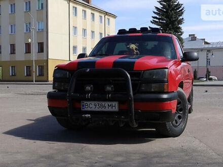 Красный Шевроле Сильверадо, объемом двигателя 4.3 л и пробегом 340 тыс. км за 8500 $, фото 1 на Automoto.ua