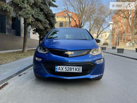 Синій Шевроле Bolt EV, об'ємом двигуна 0 л та пробігом 71 тис. км за 21300 $, фото 1 на Automoto.ua