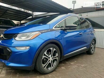 Синій Шевроле Bolt EV, об'ємом двигуна 0 л та пробігом 74 тис. км за 22200 $, фото 1 на Automoto.ua