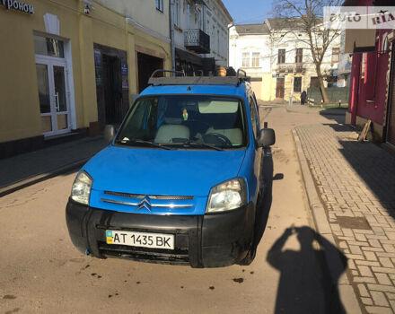 Синий Ситроен Берлинго пасс., объемом двигателя 1.4 л и пробегом 140 тыс. км за 3550 $, фото 1 на Automoto.ua
